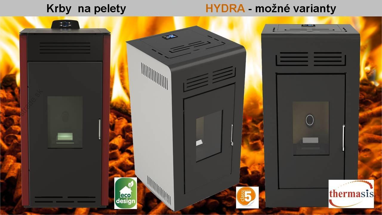 Thermasis Hydra teplovodné kachle na pelety 24 kW
