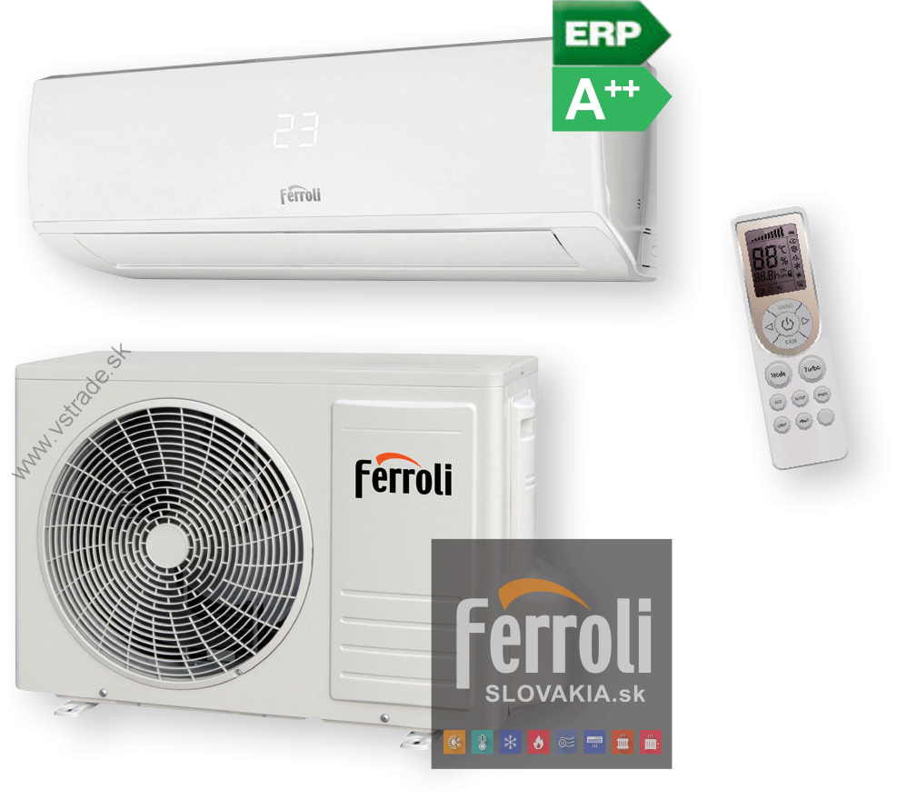FERROLI GOLD 18  inverter 5,1  kW