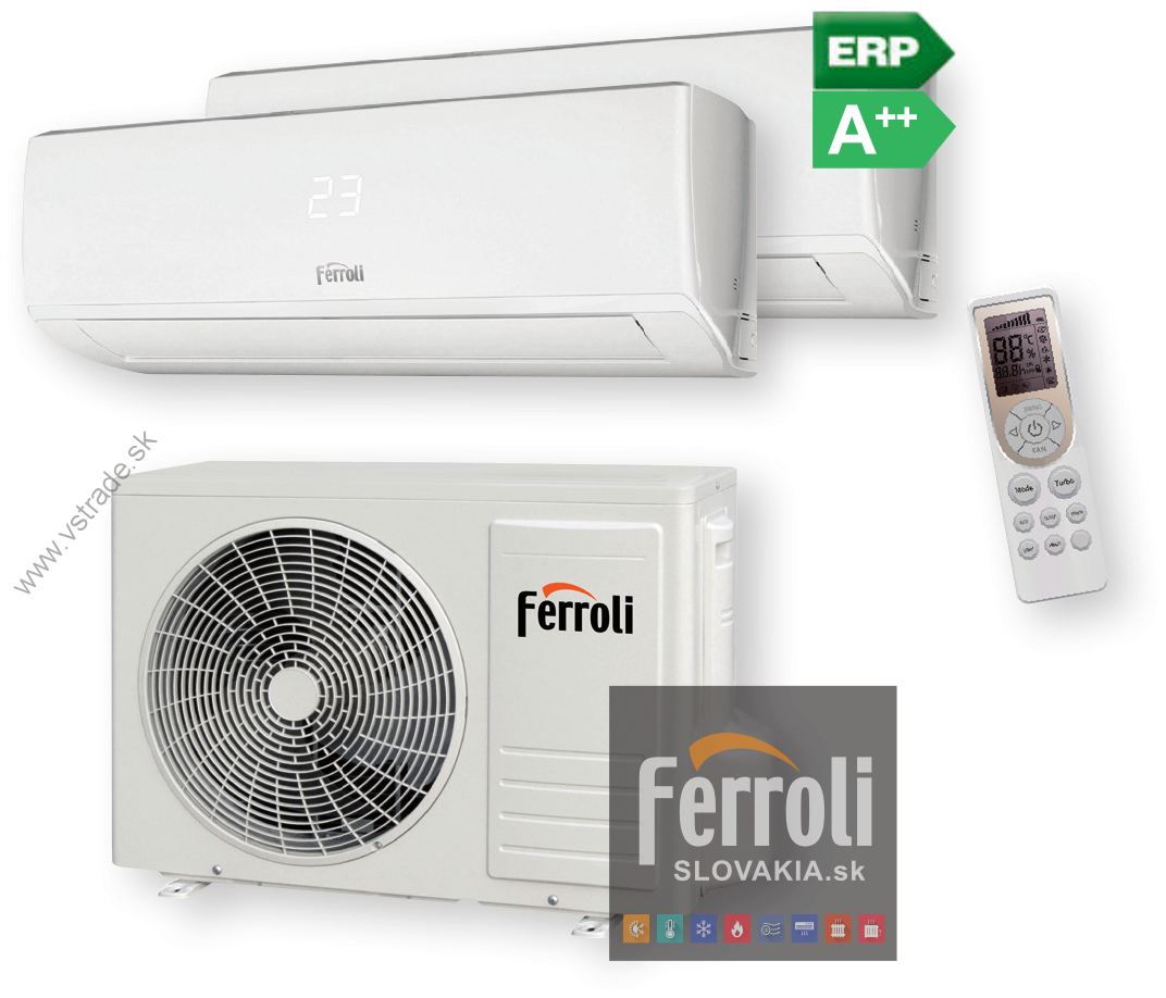 FERROLI GOLD 18  inverter 2 x 2,6 kW DUAL SPLIT