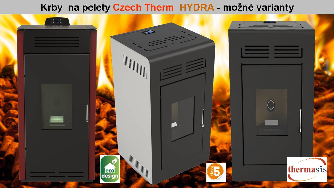Thermasis Hydra teplovodné kachle na pelety 12 kW